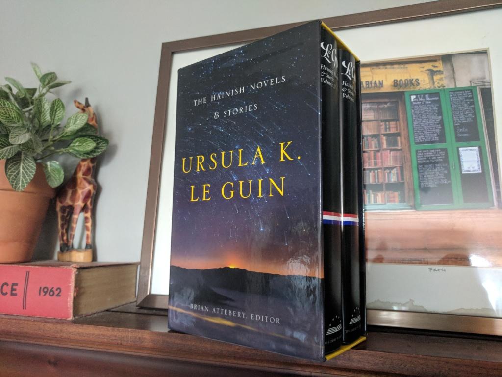 le guin science fiction books