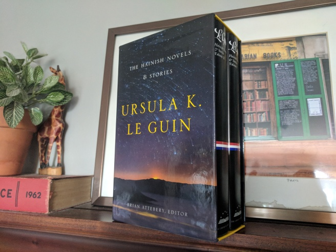 le guin science fiction books