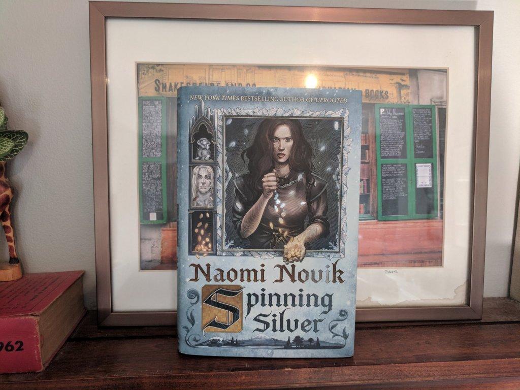 Spinning Silver Book Cover Rumpelstiltskin